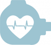 Holter Monitor Heart Beat Icon